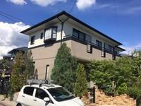 9/25完成です。筑紫野市美しが丘南・K様邸 外壁塗装・屋根塗装工事