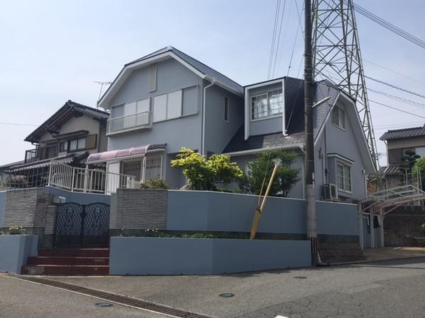 5月2日完成です。筑紫野市永岡・T様邸 外壁塗装・屋根塗装工事