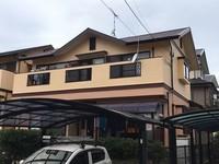 12/5完成です。那珂川市恵子・T様邸 外壁塗装工事
