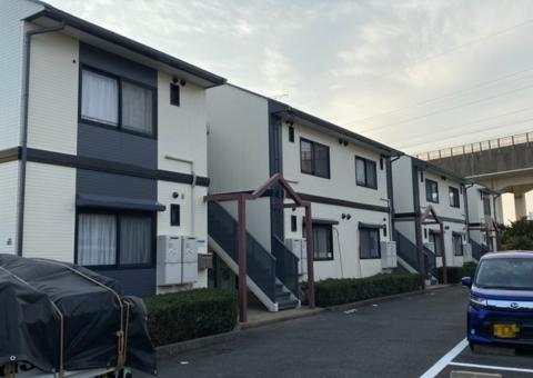 12/29完成です。福岡市東区土井・アトランティ様 外壁塗装・屋根塗装工事
