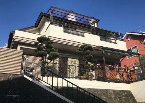 12/26完成です。筑紫野市原田・N様邸 屋根塗装工事