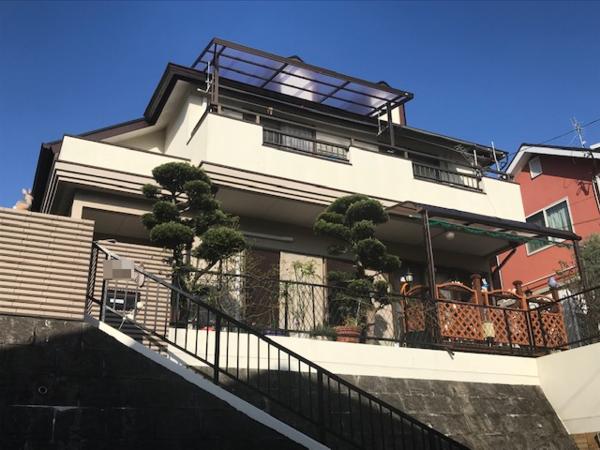 筑紫野市原田・N様邸 屋根塗装工事 12/15着工です。
