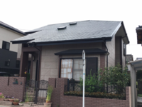 4/11完成です。太宰府市梅香苑・M様邸 屋根塗装工事