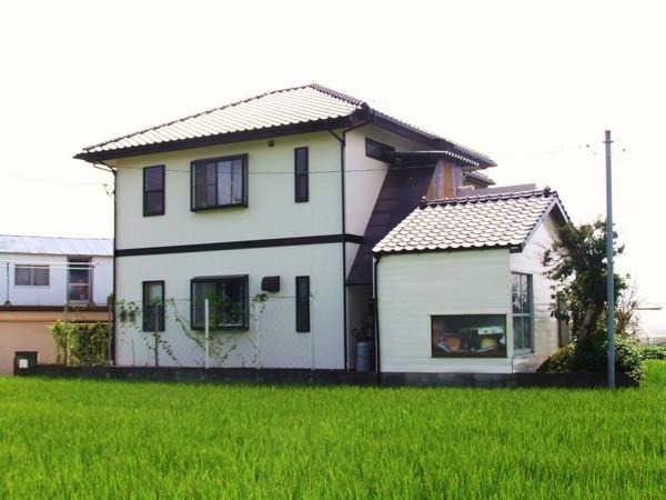9/1完成です。朝倉郡筑前町・O様邸 外壁塗装工事