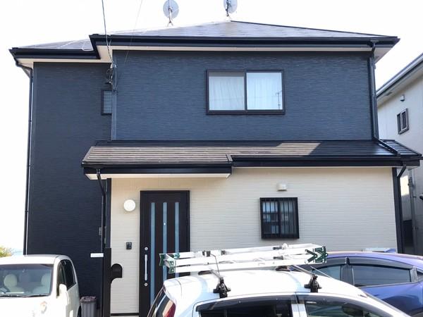 4/29完成です。福岡市東区青葉・I様邸 外壁塗装・屋根塗装工事