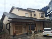 2月15日完成です。太宰府市朱雀・Y様邸 外壁塗装工事