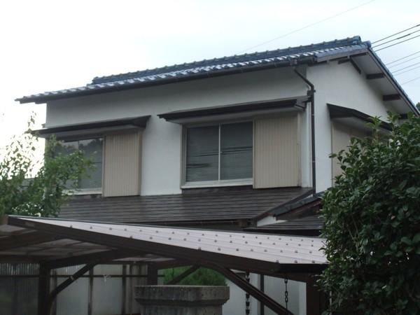 2/7完成です。太宰府市石坂・U様邸 屋根塗装工事