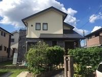 9/16完成です。筑紫野市岡田・N様邸 外壁塗装・屋根塗装工事