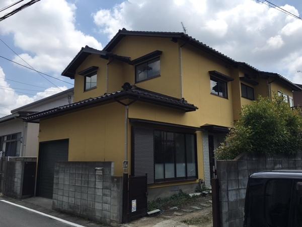 6月6日完成です。春日市昇町・S様邸 外壁塗装工事