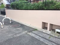 6月6日完成です。筑紫野市美しが丘南・G様邸 塀塗装工事