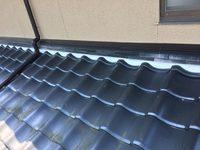 6/7完成です。太宰府市高雄・Y様邸 軒天・漆喰塗装工事
