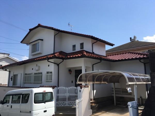 4/21完成です。太宰府市長浦台・I様邸 外壁塗装工事