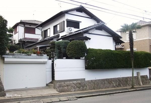 1月9日完成です。太宰府市青葉台・K様邸 外壁塗装工事