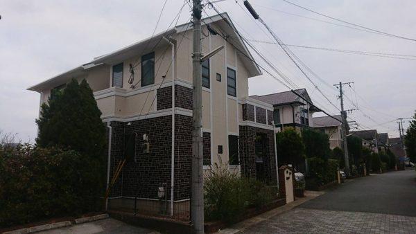 12/19完成です。筑紫野市杉塚・S様邸 外壁塗装・屋根塗装工事