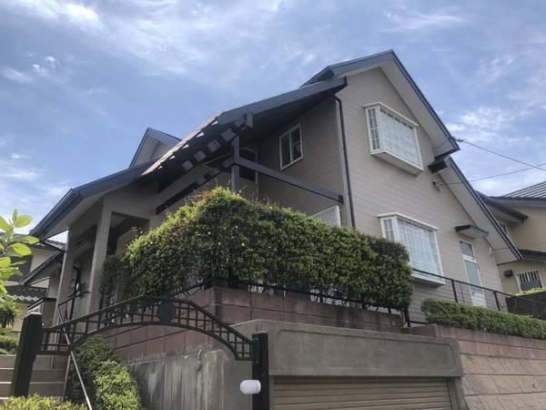4/15完成です。筑紫野市光が丘・M様邸 外壁塗装・屋根塗装工事