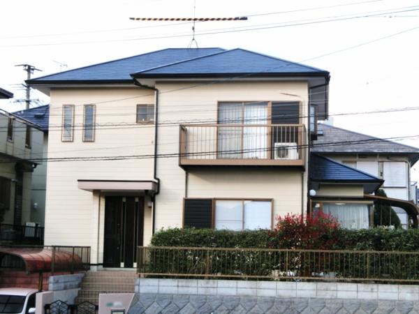 3/21完成です。筑紫野市針摺東・M様邸 外壁塗装・屋根塗装工事