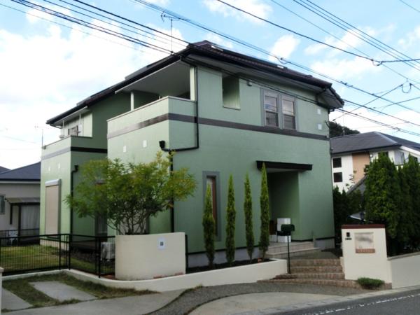 11月9日完成です。宇美町貴船・H様邸 外壁塗装・屋根塗装工事
