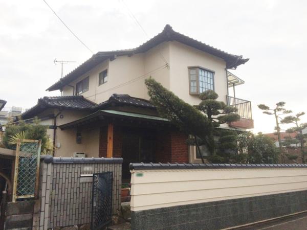 1月21日完成です。太宰府市朱雀・N様邸 外壁塗装工事