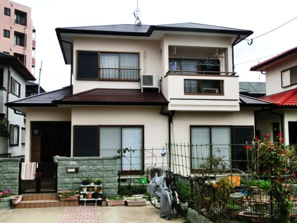 3月5日完成です。太宰府市都府楼南・K様邸 外壁塗装・屋根塗装工事