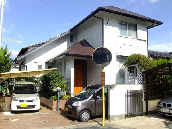 10/17完成です。筑紫野市吉木・A様邸 外壁塗装・屋根塗装工事