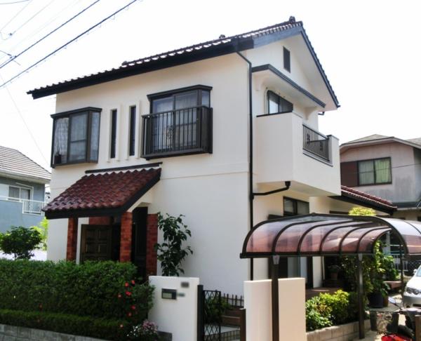 5/22完成です。宇美町ひばりが丘・F様邸 外壁塗装工事