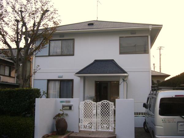 6/29完成です。筑紫野市・M様邸 外壁塗装工事・屋根葺き替え工事