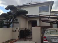 2月25日完成です。筑紫野市針摺・G様邸 外壁塗装・屋根塗装工事