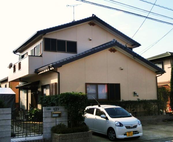 12月8日完成です。宇美町四王子坂・U様邸 外壁塗装工事