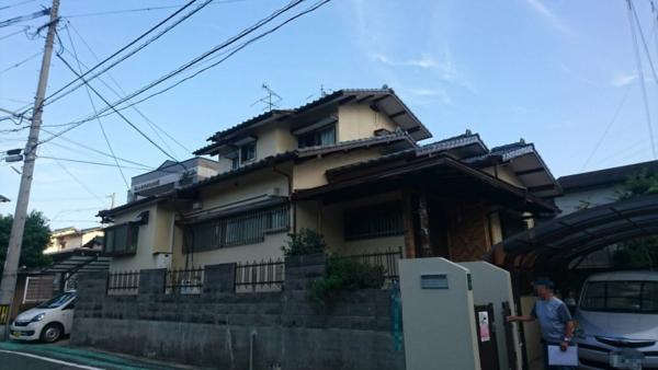9/26完成です。福岡市東区若宮・T様邸 外壁塗装工事