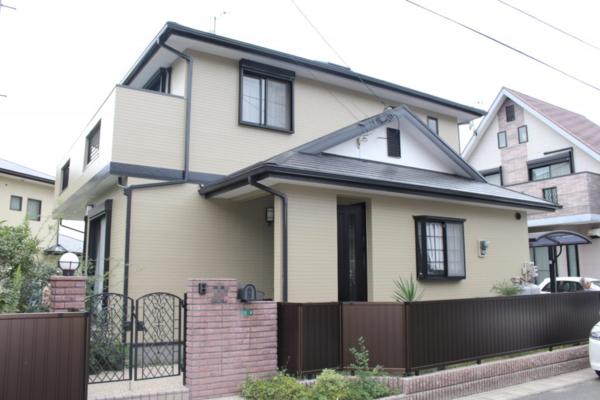 9/30完成です。太宰府市水城・N様邸 外壁塗装・屋根塗装工事