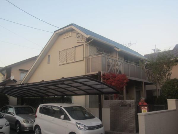 11/18完成です。筑紫野市原・B様邸 外壁塗装・屋根塗装工事