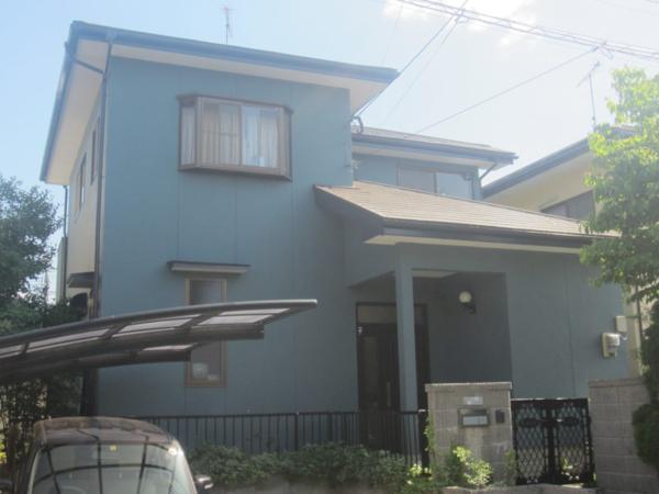 5/17完成です。大野城市大城・S様邸 外壁塗装・屋根塗装工事