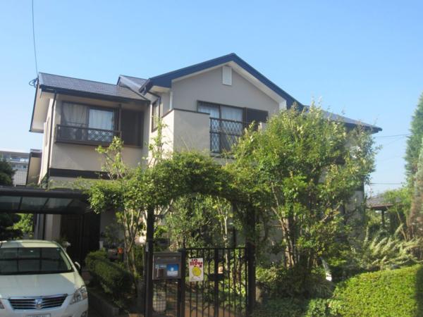 6/9完成です。筑紫野市光が丘・T様邸 外壁塗装・屋根塗装工事