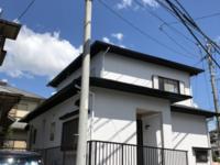 8月18日完成です。福岡市東区香椎・H様邸 外壁塗装工事