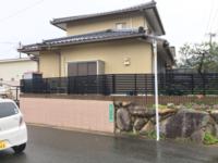 11/28完工です。福岡市東区高美台・N様邸 外壁塗装工事