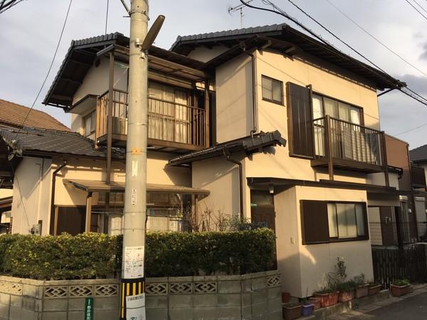 12/25完成です。太宰府市都府楼南・H様邸 外壁塗装工事
