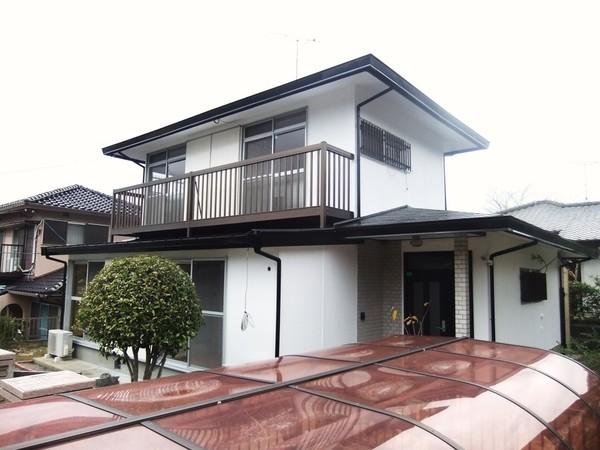 12月18日完成です。太宰府市梅香苑・T様邸 外壁塗装・屋根塗装工事