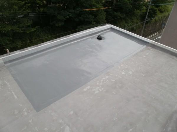 8/8完成です。福岡市南区・Tビル様 屋上防水工事