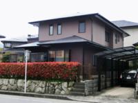 3月23日完成です。筑紫野市天拝坂・T様邸 外壁塗装・屋根塗装工事