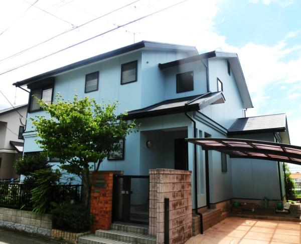 8月18日完成です。太宰府市高雄・T様邸 外壁塗装・屋根塗装工事