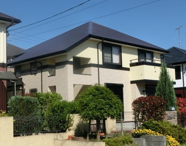5/2完成です。小郡市美鈴が丘I様邸 外壁塗装・屋根塗装工事