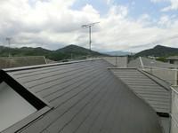 7/23完成です。宇美町四王子坂・T様邸 外壁塗装・屋根塗装工事