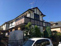 10/24完成です。小郡市美鈴の杜・O様邸 外壁塗装・屋根塗装工事