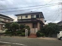 9月19日完成です。筑紫野市美しが丘・E様邸 外壁塗装・屋根塗装工事