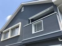 7/27完成です。筑紫野市美しが丘北・T様邸 外壁塗装・屋根塗装・一部金属サイディング張り工事