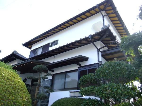 10月8日完成です。太宰府市・H様邸 外壁塗装工事