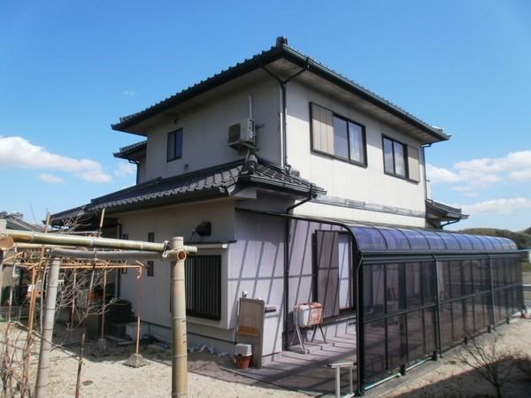6/29完成です。太宰府市・O様邸 外壁塗装工事