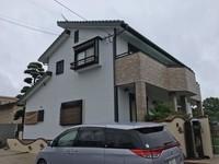 6/28完成です。筑紫野市原田・M様邸 外壁塗装工事