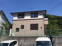 4/25完成です。糟屋郡久山町・N様邸 外壁塗装・屋根塗装工事