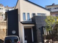 12/5完成です。福岡市東区多々良・S様邸 外壁塗装・屋根塗装工事